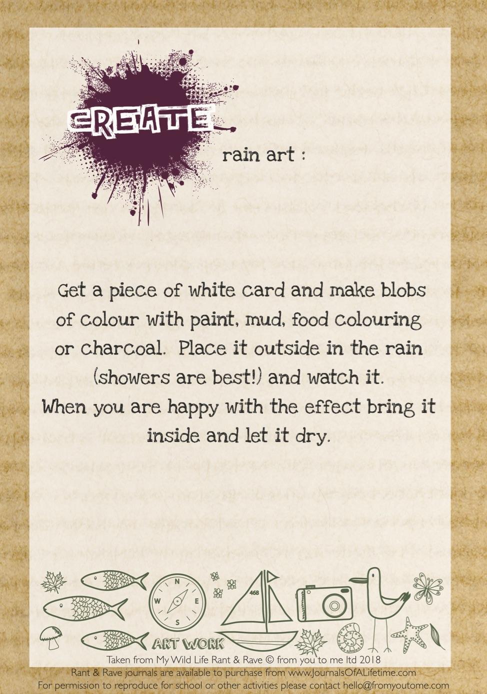 My Wild Life - Rain Art