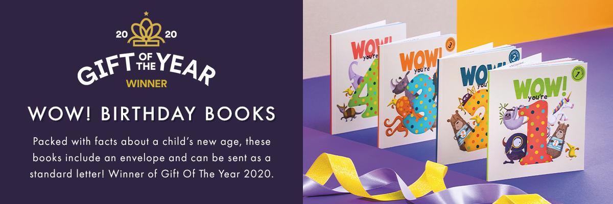 WOW! Birthday Books