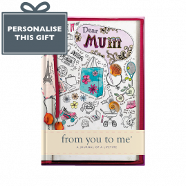 Memory Book for Mum sketch cover from you to me Mother's Day, Mother, Mothering Sunday