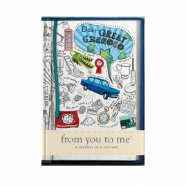 Dear Great-Grandad tell me memory journal by from you to me