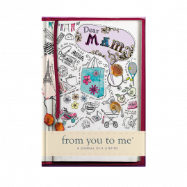 guided memory journal for Dear Mam (sketch) for Mothers by from you to me