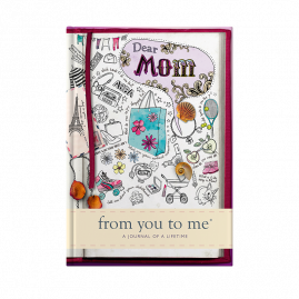 guided memory journal for Mom sketch cover by from you to me