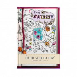 guided memory journal for Mummy sketch cover by from you to me