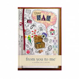 guided memory journal for Nan sketch cover by from you to me