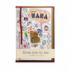 guided memory journal for Nana sketch cover by from you to me