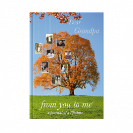 guided memory journal for Grandpa Tree cover