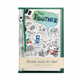 guided memory journal for Brother sketch by from you to me