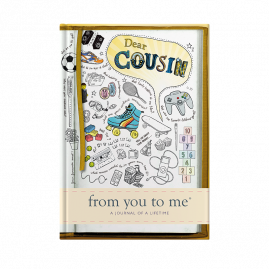 guided memory journal for Cousin sketch by from you to me