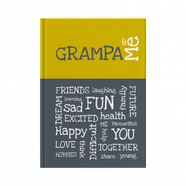Grampa and Me interactive journal cover