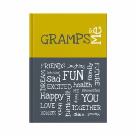 Gramps and Me interactive journal cover