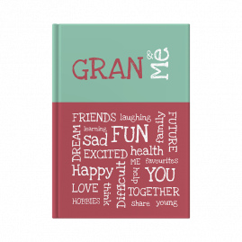 Gran and Me interactive journal cover