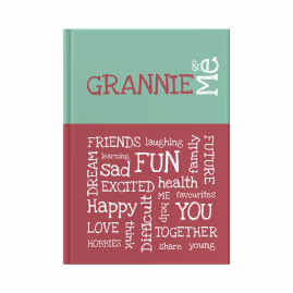 Grannie and Me interactive journal cover