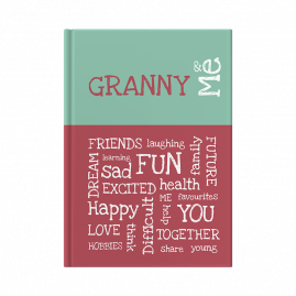 Granny and Me interactive journal cover