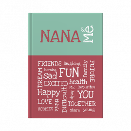 Nana and Me interactive journal cover