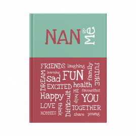 Nan and Me interactive journal cover
