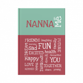 Nanna and Me interactive journal cover