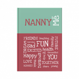 Nanny and Me interactive journal cover