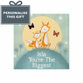 Personalised You're The Biggest soft back children's book by from you to me