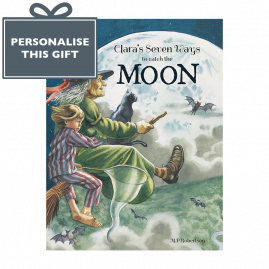 Personalised Seven Ways To Catch The Moon poetical picture book by M.P.Robertson *printed especially for you*
