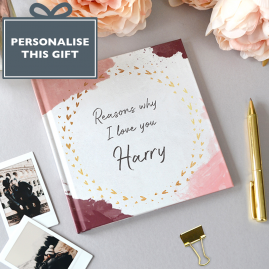 Personalised, Reasons Why book by from you to me
