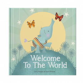 Welcome to the World : keepsake gift book for a new baby by from you to me