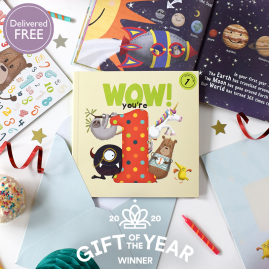 WOW! You're One ...a first birthday book that can be sent as a card by from you to me