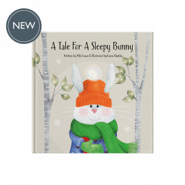 A Tale For A Sleepy Bunny hardback gift book by Míla Coxon
