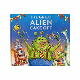 The Great Alien Cake Off a messy tale by Rachel McCoubrie