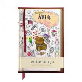 Estimada Àvia Catalan hardback guided memory journal