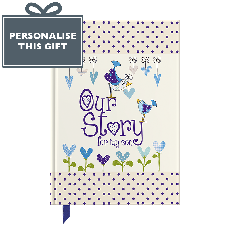 Our Story For My Son Gift Journal For New Mum And Dad