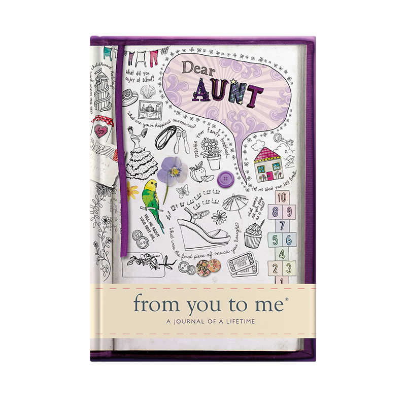 Dear Aunt From You To Me Gift Journal For Aunt