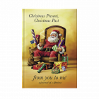 Christmas Present Christmas Past Santa journal cover by from you to me