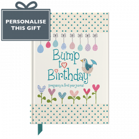 Bump to Birthday Pregnancy & First Year Baby Journal : an award-winning journal / diary to help you hold onto memories of the growing bump, the birth & the first year with your baby (Parent & Child) by from you to me