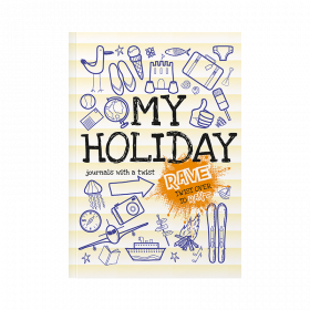 Rant and Rave My Holiday softback children's activity journal by from you to me