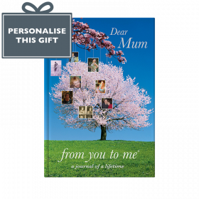 Memory Book for Mum Tree cover from you to me