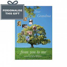 Memory Book for Grandma Tree cover from you to me