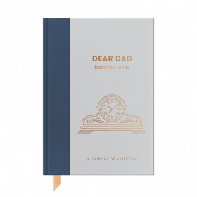 NEW Timeless Collection Dear Dad hardback memory journal