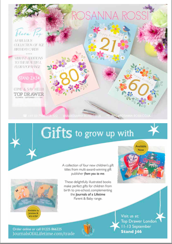 Gifts to grow up with Gift Focus Sept/Oct 2016